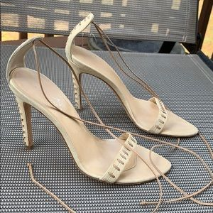 Alexandria neel wrap ankle heels